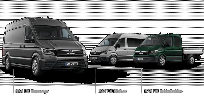 Fleksible og moderne varebiler fra MAN