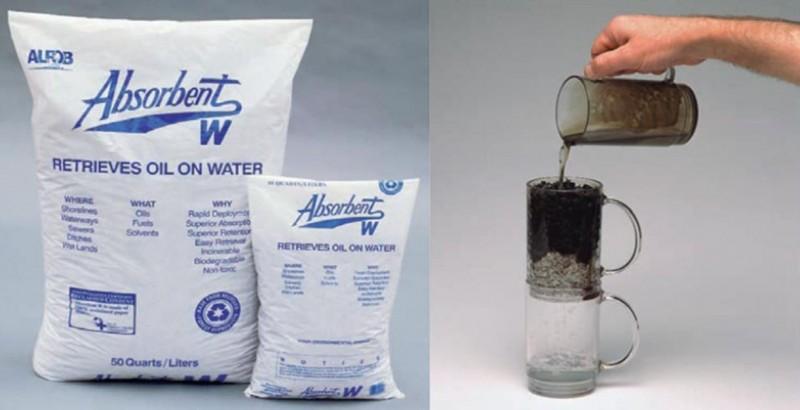 Oliesug absorberingsprodukter stopper olie- og kemikalieudslip på miljørigtig måde