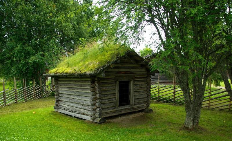 Få et hyggeligt og nostalgisk udtryk til dit hus med grønne tage